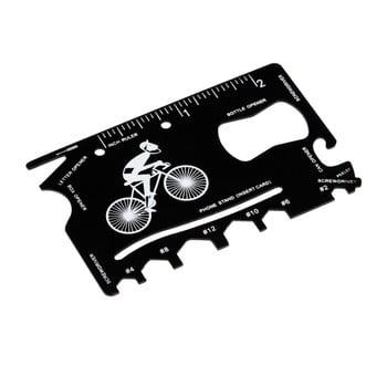 Card multifuncțional în suport de piele Rex London Le Bicycle bonami.ro
