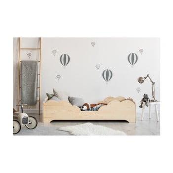 Pat din lemn de pin pentru copii Adeko BOX 10, 90x160 cm bonami.ro