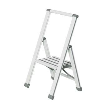 Scără pliantă Wenko Ladder Alu, 74 cm, alb bonami.ro