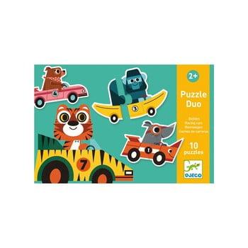 Puzzle pentru copii Djeco Animale poza bonami.ro