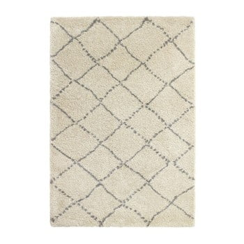 Covor Think Rugs Royal Nomadic Cream & Grey, 160 x 230 cm, gri - crem imagine