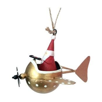 Decorațiune suspendată pentru Crăciun G-Bork Santa in Fly bonami.ro