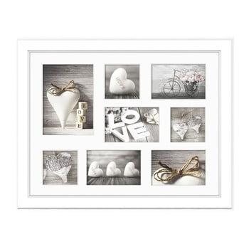 Ramă foto pentru 8 fotografii Styler Malmo, 41 x 51 cm, alb bonami.ro