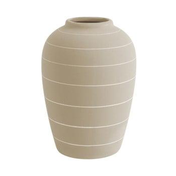 Vază din ceramică PT LIVING Terra, ⌀ 13 cm, alb crem bonami.ro
