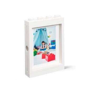 Ramă foto LEGO®, 19,3 x 4,7 cm, alb poza bonami.ro