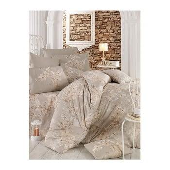 Lenjerie de pat cu cearșaf Mika, 200 x 220 cm bonami.ro