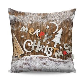 Pernă Merry Christmas, 43x43cm bonami.ro