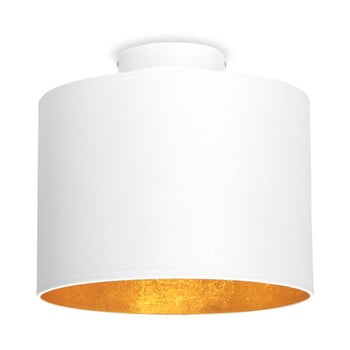 Plafonieră Sotto Luce MIKA, Ø 25 cm, alb/auriu bonami.ro