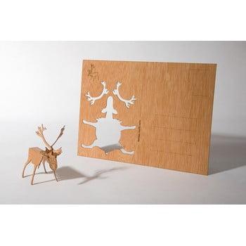 Carte poștală din lemn Formes Berlin Sob, 14,8 x 10,5 cm poza bonami.ro