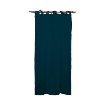 Draperie Linen Cuture Cortina Hogar Turquoise, turcoaz închis poza bonami.ro