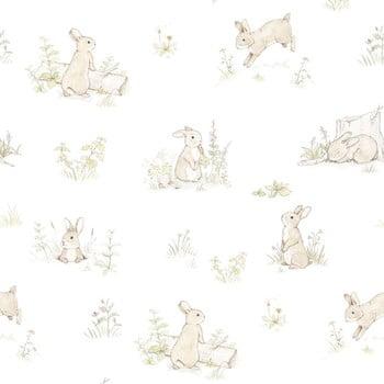 Tapet cu model cu iepuri Dekornik Rabbit Day Classic poza bonami.ro