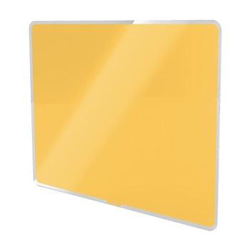 Tablă magnetică din sticlă Leitz Cosy, 60 x 40 cm, galben poza bonami.ro