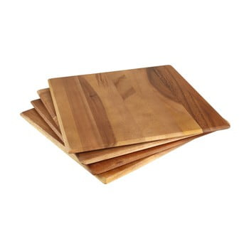 Set 4 suporturi din lemn de salcâm pentru farfurii T&G Woodware Tuscany bonami.ro