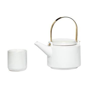 Set ceainic și 5 cești din ceramică Hübsch Ostis bonami.ro