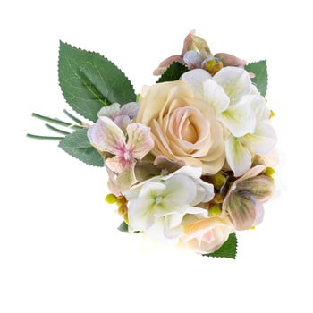 Buchet decorativ artificial de hortensie și trandafir Dakls Basso poza bonami.ro