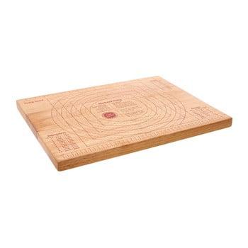 Tocător din lemn de cauciuc Premier Housewares, 35 x 45 cm poza bonami.ro