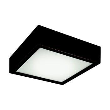 Plafonieră pătrată Lamkur Plafond, 27,5x27,5 cm, negru poza bonami.ro