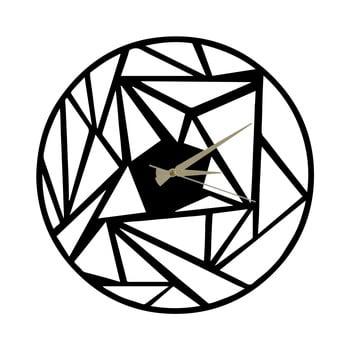 Ceas din metal Peony, 60 x 50 cm poza bonami.ro