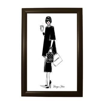 Poster cu ramă Piacenza Art Chanel, 33,5 x 23,5 cm bonami.ro
