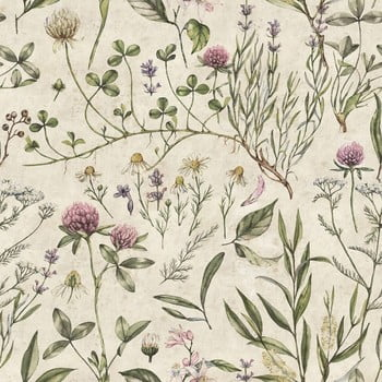 Tapet Dekornik Vintage Botanic imagine