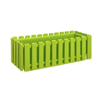 Jardinieră cu sistem de auto-irigare Gardenico Fency Smart System, lungime 50 cm, verde mazăre poza bonami.ro
