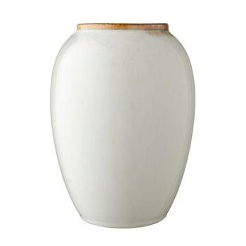 Vază din ceramică Bitz Basics Cream, înălțime 20 cm, crem poza bonami.ro