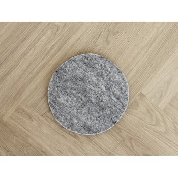 Suport din lână pentru pahar/veselă Wooldot Felt Coaster, ⌀ 30 cm, gri oțel bonami.ro