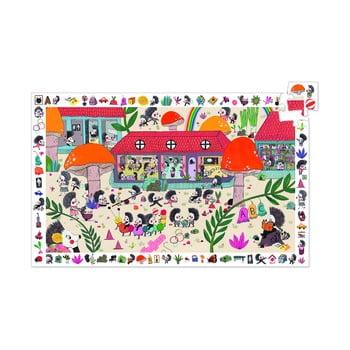 Puzzle pentru copii Djeco Observation Arici poza bonami.ro
