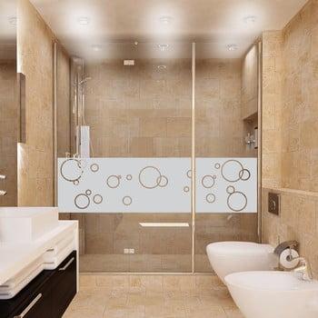 Autocolant rezistent la apă, pentru cabina de duș, Ambiance Bubbles bonami.ro