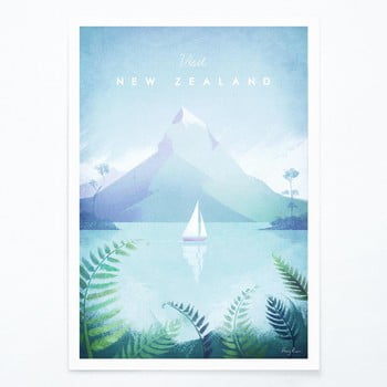 Poster Travelposter New Zealand, A3 bonami.ro