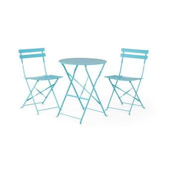 Set mobilier de grădină Le Bonom Retro, albastru bonami.ro