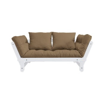 Canapea extensibilă Karup Design Beat White/Mocca