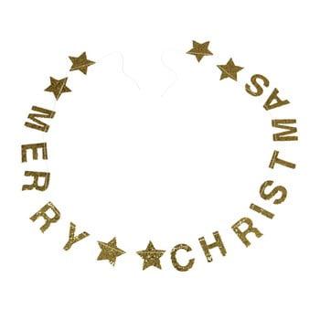Ghirlandă de Crăciun cu mesaj Rex London Gold Stars bonami.ro