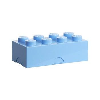 Cutie pentru prânz LEGO®, albastru deschis poza bonami.ro