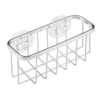 Suport din metal cu ventuze pentru burete iDesign Gia bonami.ro