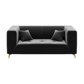Canapea cu 2 locuri MESONICA Toro, gri