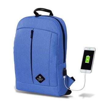 Rucsac cu port USB My Valice GALAXY Smart Bag, albastru deschis bonami.ro