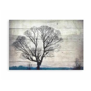 Tablou decorativ din lemn de pin Really Nice Things Tree, 40 x 60 cm bonami.ro