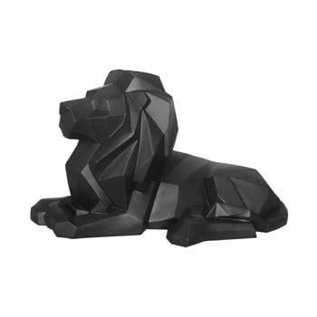 Statuetă PT LIVING Origami Lion, negru mat bonami.ro