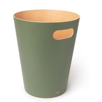 Coș de gunoi Umbra Woodrow, 7,5 l, verde bonami.ro