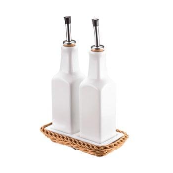Set recipiente din porțelan pentru ulei și oțet Saleen Korbeige bonami.ro