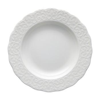 Farfurie din portelan Brandani Gran Gala, diametru 22 cm, alb