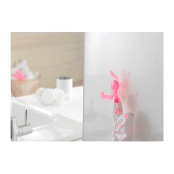 Cârlig cu ventuză Compactor Bunny, roz bonami.ro