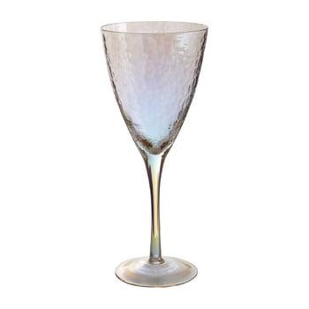 Set 4 pahare de vin Premier Housewares Hammered, 377 ml poza bonami.ro