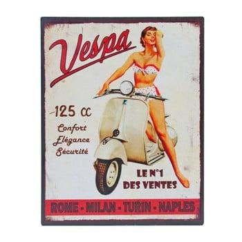 Tăbliță metal Antic Line Vespa No.1, 28x22 cm bonami.ro