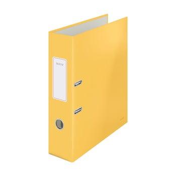 Biblioraft cu înveliș moale Leitz Cosy, A4, galben bonami.ro