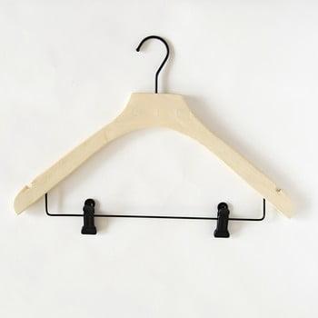 Umeraș din lemn Compactor Hang&Keep bonami.ro