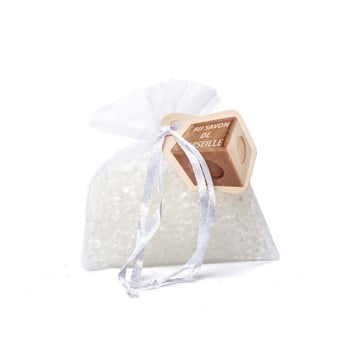 Săculeț parfumat cu aromă de săpun Ego Dekor Organza Savon Marseille poza bonami.ro