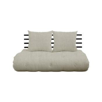 Canapea extensibilă Karup Design Shin Sano Black/Linen imagine