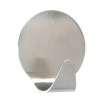 Set 2 cârlige de perete, oțel inoxidabil mat Wenko Maxi Round bonami.ro